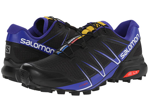 Salomon - Speedcross Pro (Black/Spectrum Blue/White) Women