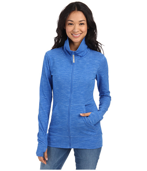 Bench - Connel Zip Through (Strong Blue) Women's Clothing