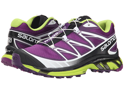 Salomon - Wings Pro (Cosmic Purple/Passion Purple/Granny Green) Women's Shoes