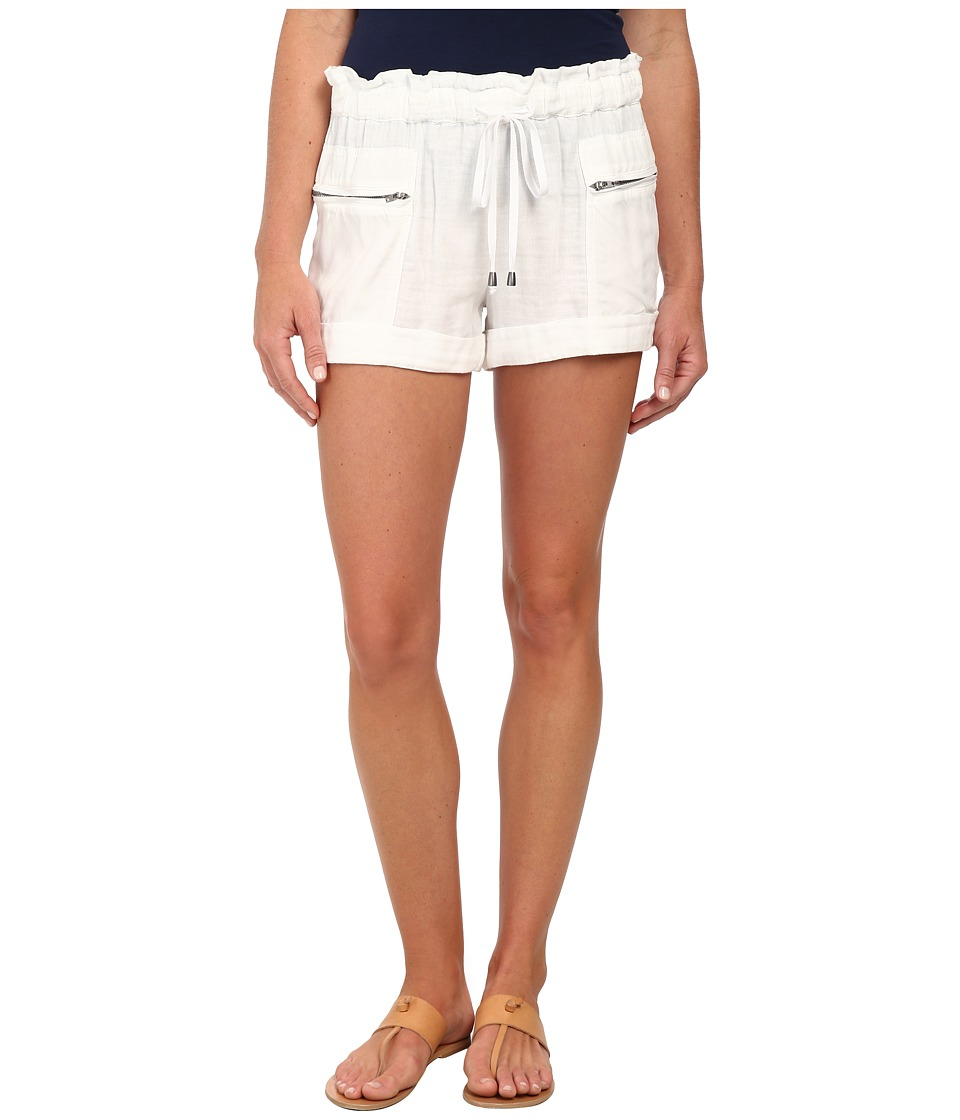 Splendid - Double Cloth Shorts (White) Women