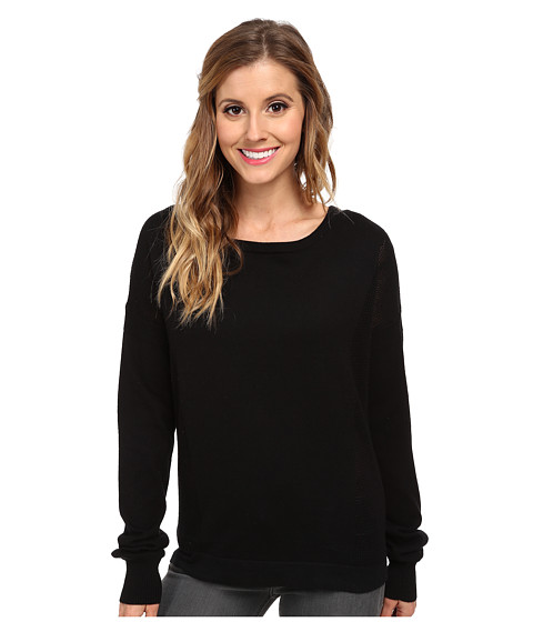 Bench - Makeapoint Jumper (Jet Black) Women's Sweater