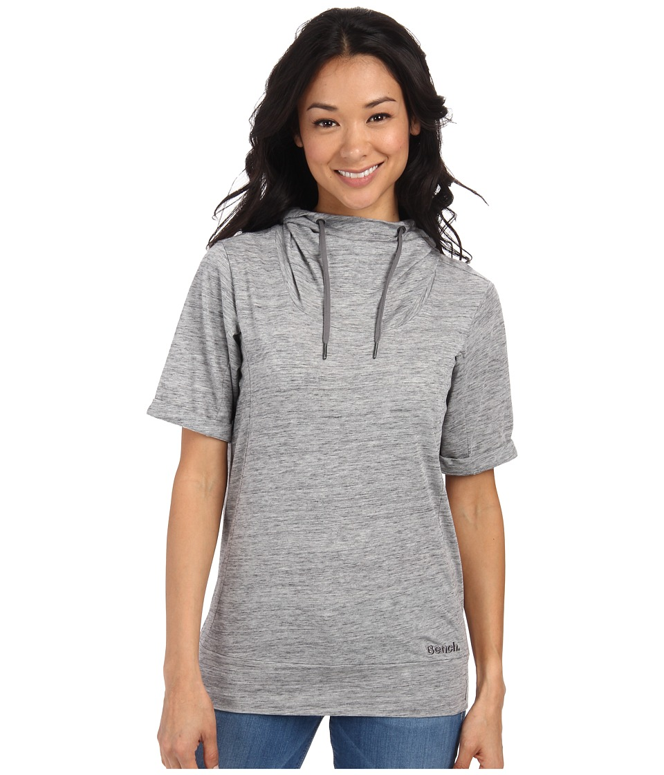 Bench - Rollreach Short Sleeve Top (Gy149 Grey Marl) Women