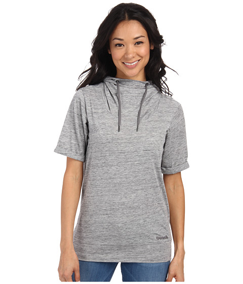Bench - Rollreach Short Sleeve Top (Gy149 Grey Marl) Women's Clothing