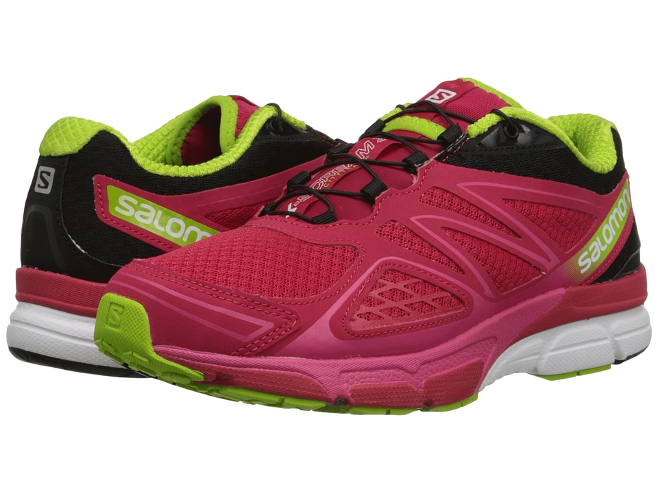 Salomon - X-Scream 3D (Lotus Pink/Black/Granny Green) Women's Shoes