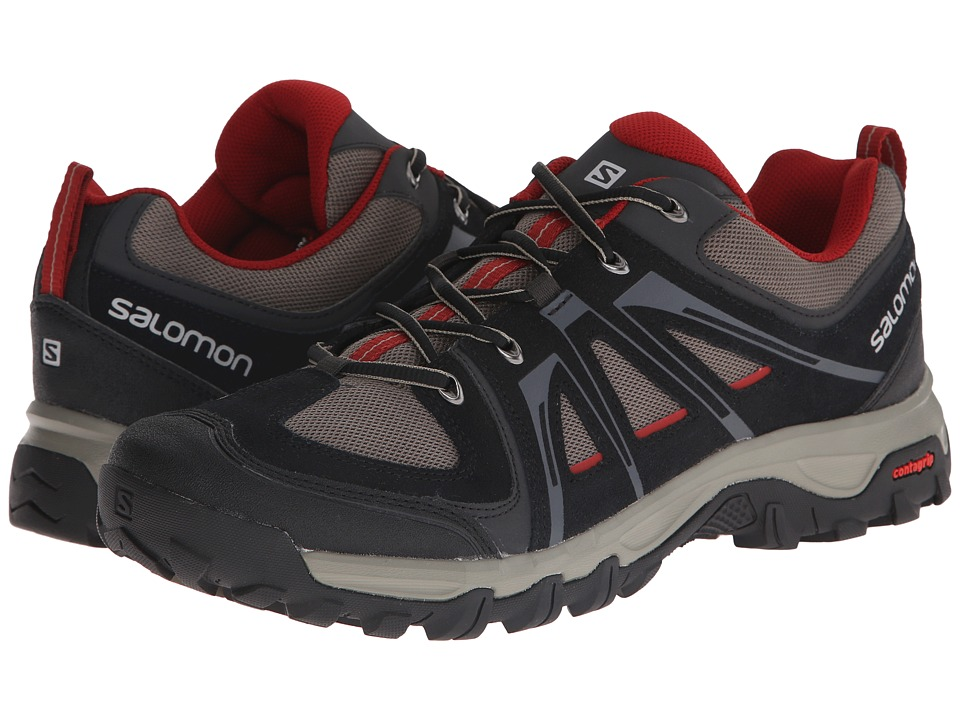 Salomon Evasion Aero (Black/Swamp/Flea) Men