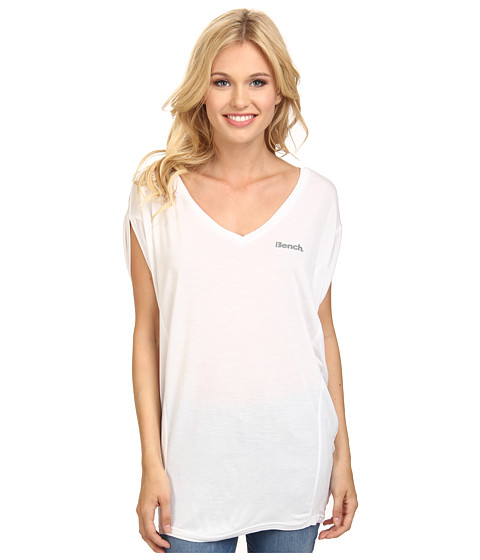 Bench - Amplize T-Shirt (Bright White) Women's T Shirt