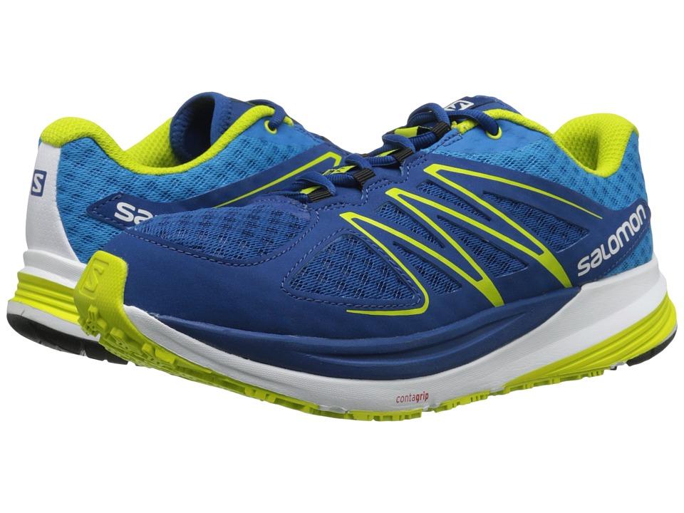 Salomon - Sense Pulse (Gentiane/Methyl Blue/Gecko Green) Men's Shoes