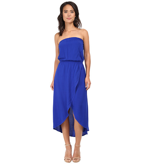 Splendid - Tube Top Tulip Dress (Cobalt Blue) Women's Dress
