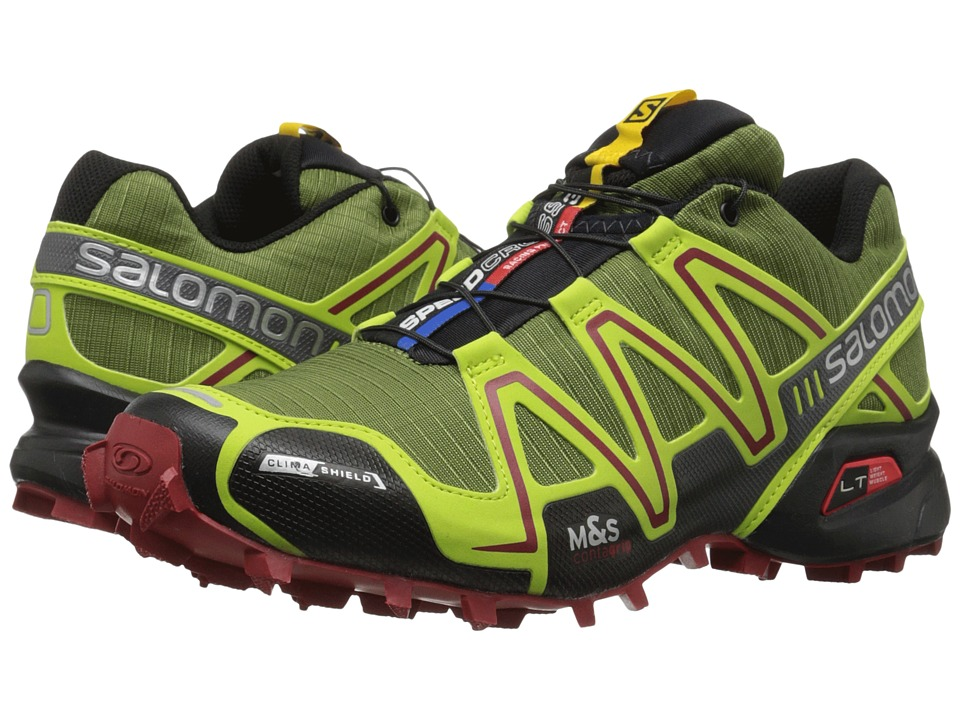 Salomon - Speedcross 3 CS (Genepi-X/Green Glow/Flea) Men