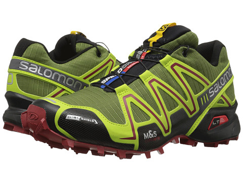 Salomon - Speedcross 3 CS (Genepi-X/Green Glow/Flea) Men's Shoes