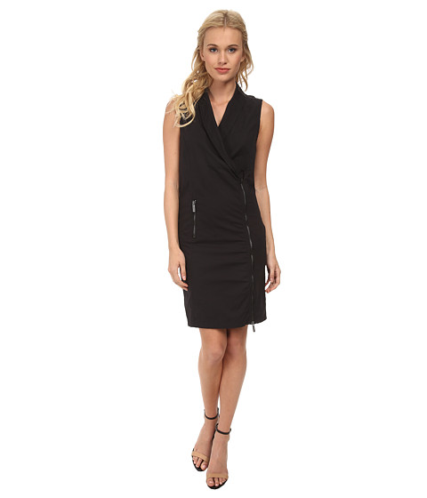 Bench - Armoured Dress (Jet Black) Women's Dress