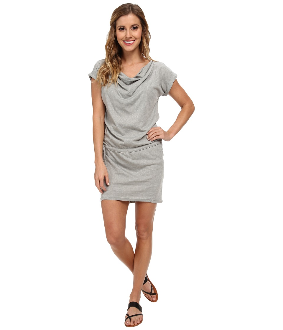 Bench - Twosided Dress (Neutral Grey Marl) Women's Dress