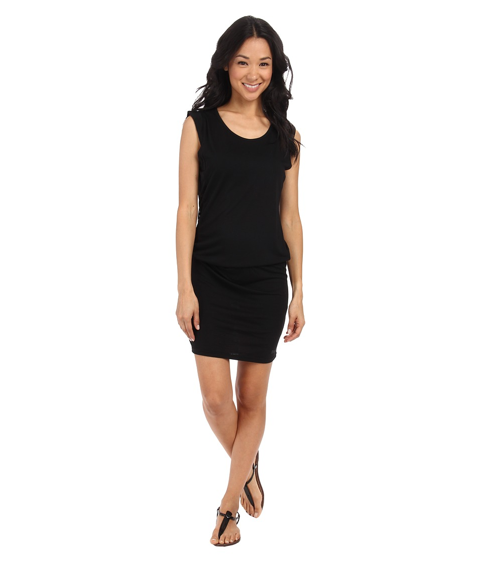Bench - Burnburnout Dress (Jet Black) Women's Dress