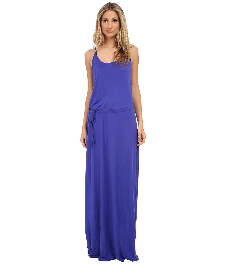 Splendid - Midnight Jersey Maxi Dress (Cobalt Blue) Women