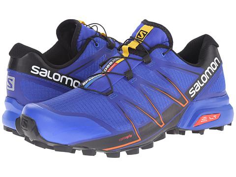Salomon - Speedcross Pro (Cobalt/Black/Tomato Red) Men's Shoes