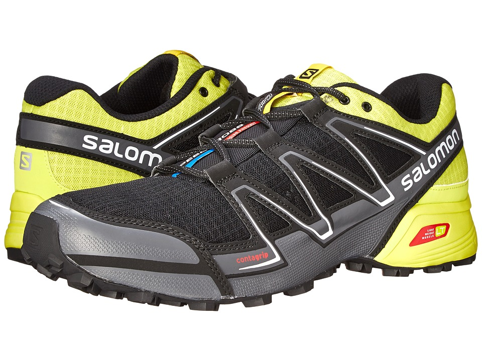 Salomon Speedcross Vario (Black/Gecko Green/Dark Cloud) Men