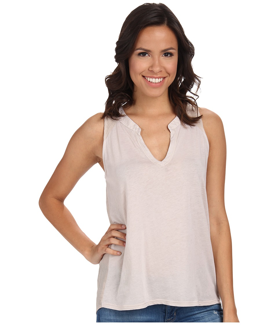 Splendid - Cotton Gauze Tank Top (Barley) Women's Sleeveless