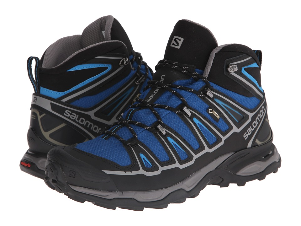 Salomon - X Ultra Mid 2 GTX (Gentiane/Black/Methyl Blue) Men's Shoes