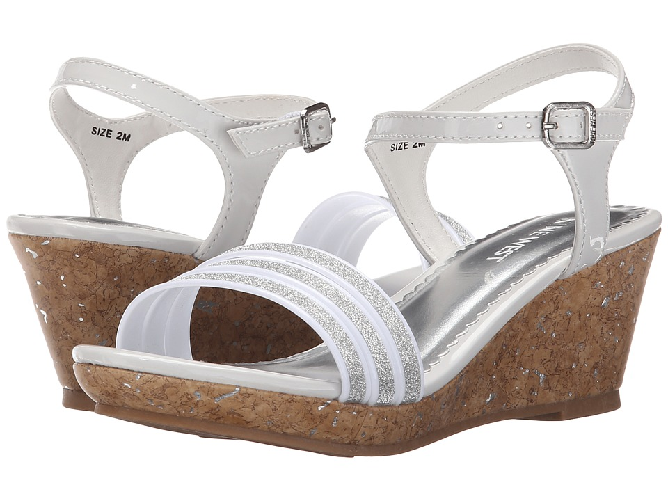 Nine West Kids - Emily (Little Kid/Big Kid) (White) Girl