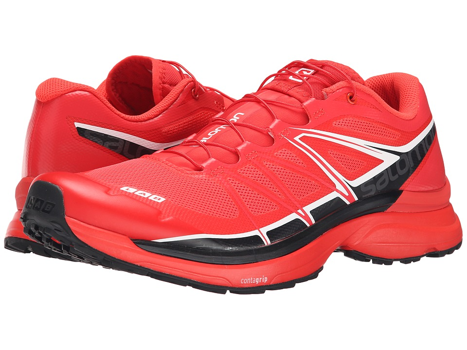 Salomon - S-Lab Wings (Racing Red/Black/White) Athletic Shoes