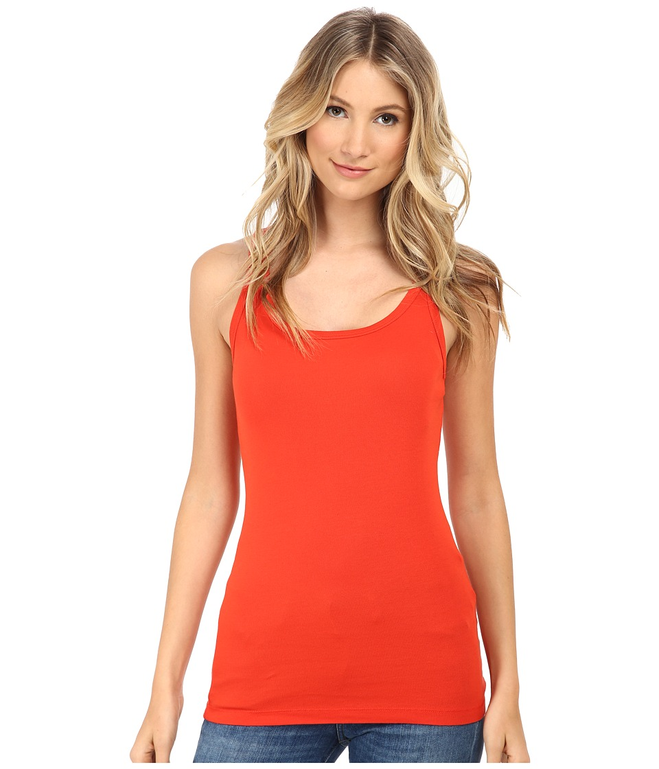 Splendid - 1x1 Tank Top (Poppy Red) Women