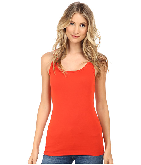 Splendid - 1x1 Tank Top (Poppy Red) Women's Sleeveless