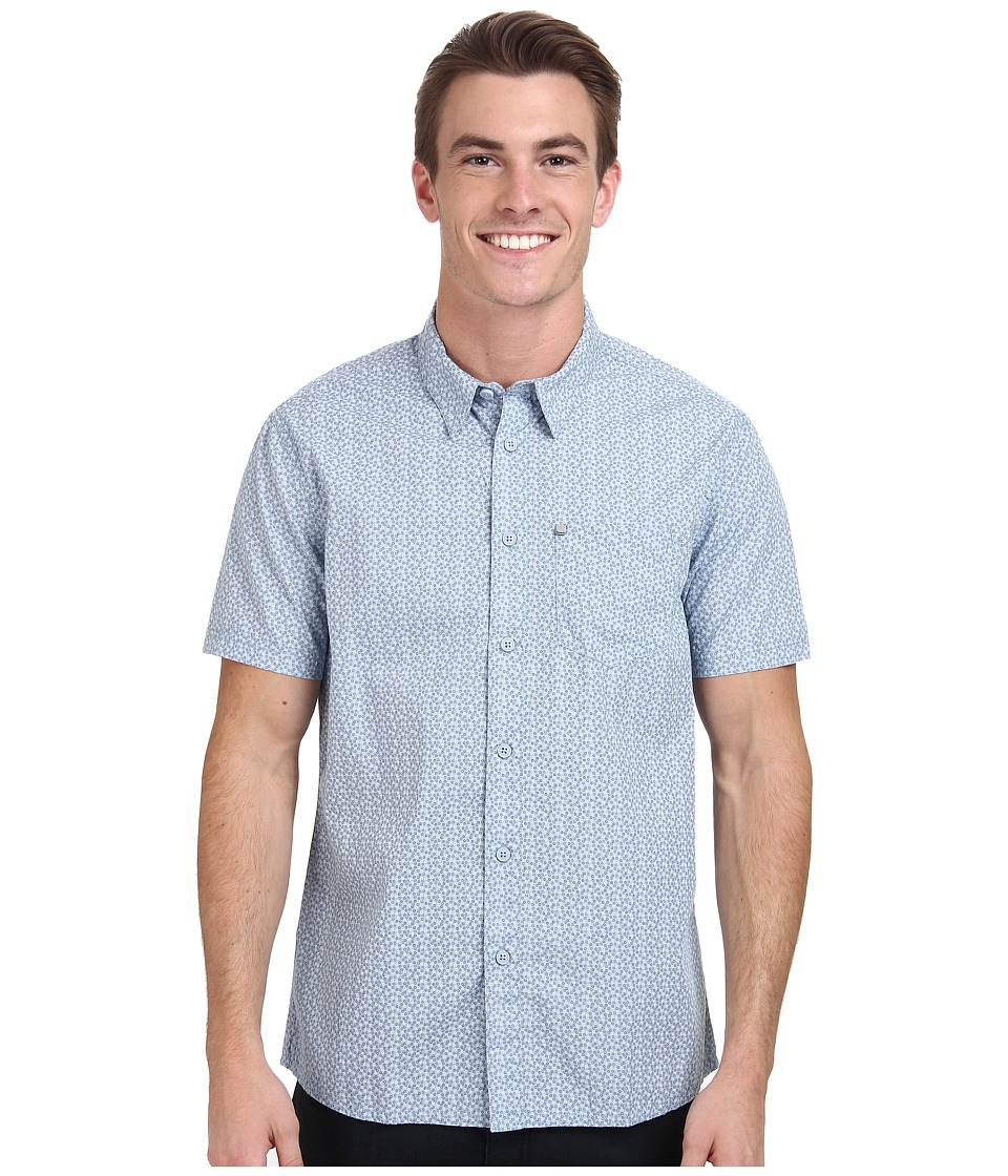 Bench - Rapson C Short Sleeve Regular (Celestial Blue) Men's Long Sleeve Button Up