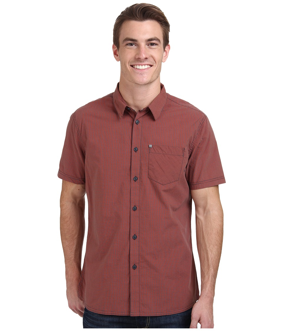 Bench - Rapson Short Sleeve Regular (Tigerlily) Men's Clothing