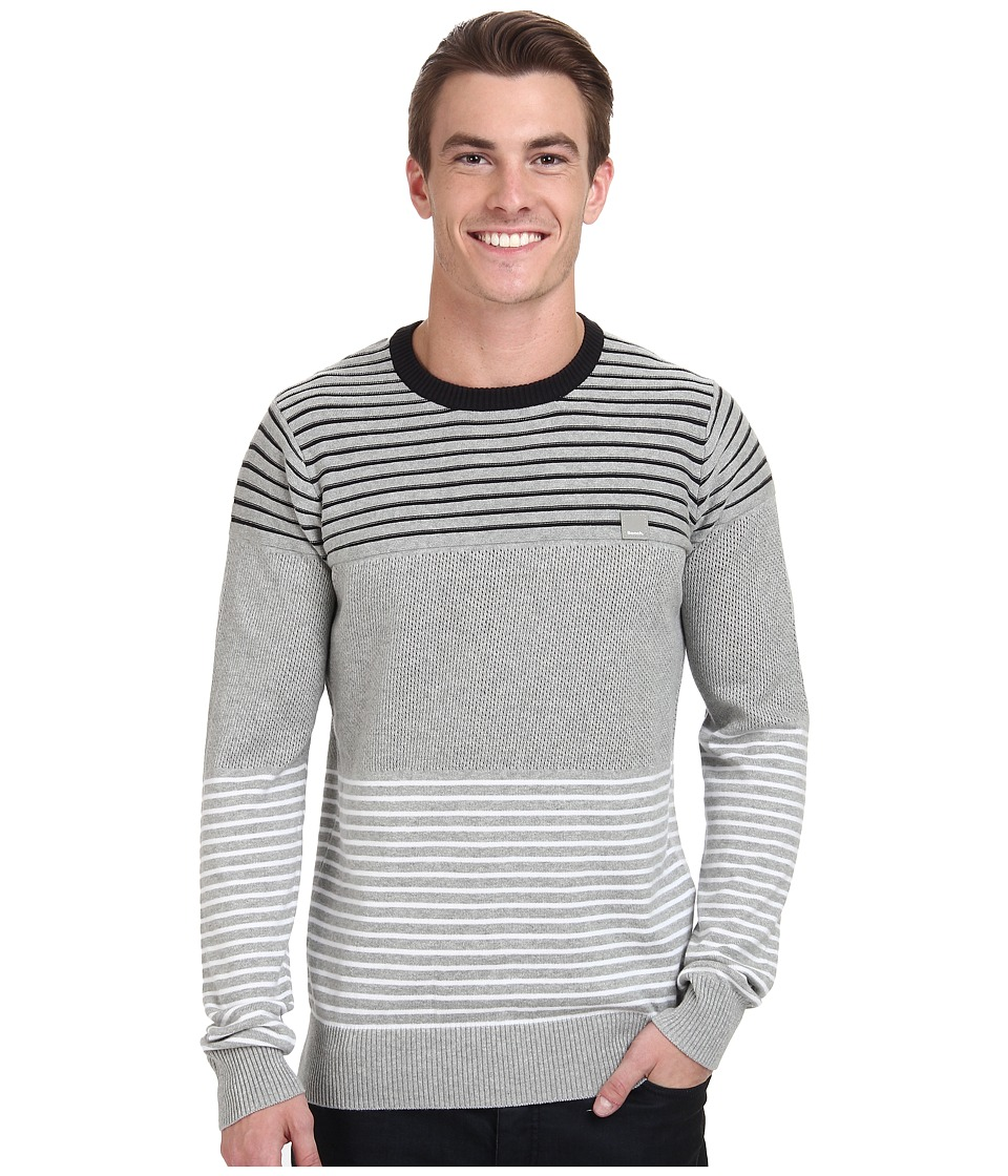 Bench - Gridlicker Crew Neck (Grey Marl) Men's Sweater