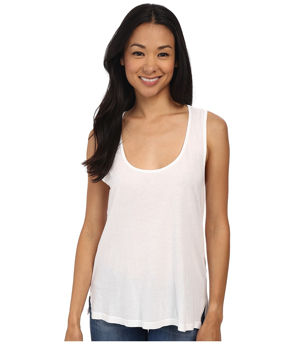 Splendid - Very Light Jersey Tank Top (White) Women's Sleeveless
