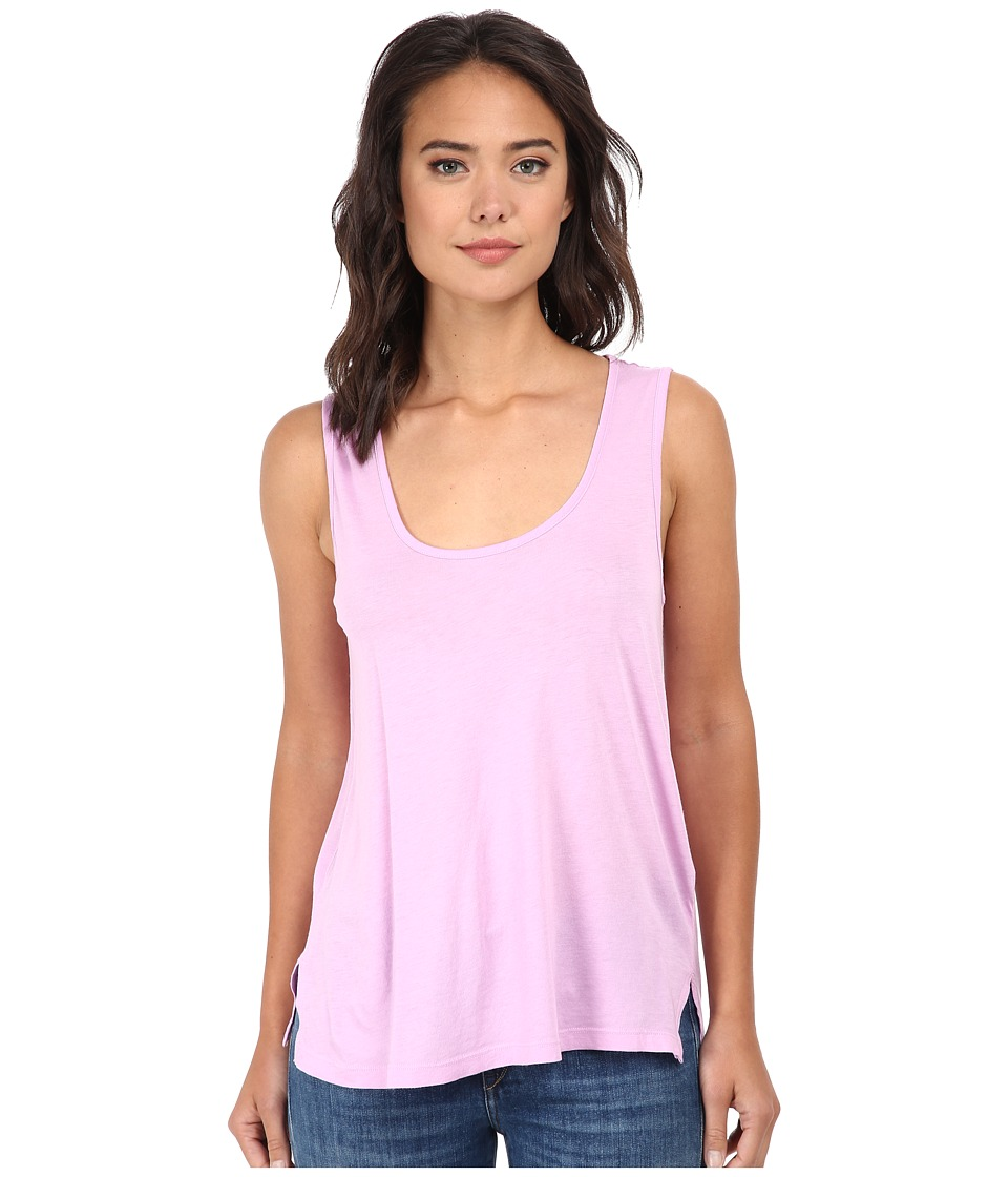 Splendid - Very Light Jersey Tank Top (Dahlia) Women's Sleeveless