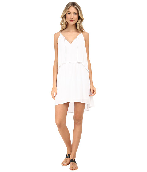 Splendid - Cotton Gauze Dress (White) Women's Dress