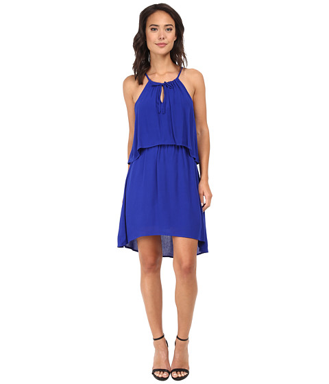 Splendid - Cotton Gauze Dress (Cobalt Blue) Women's Dress