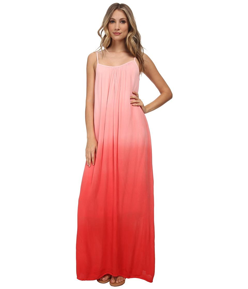 Splendid - Lightweight Rayon Maxi Dress (Poppy Red) Women's Dress