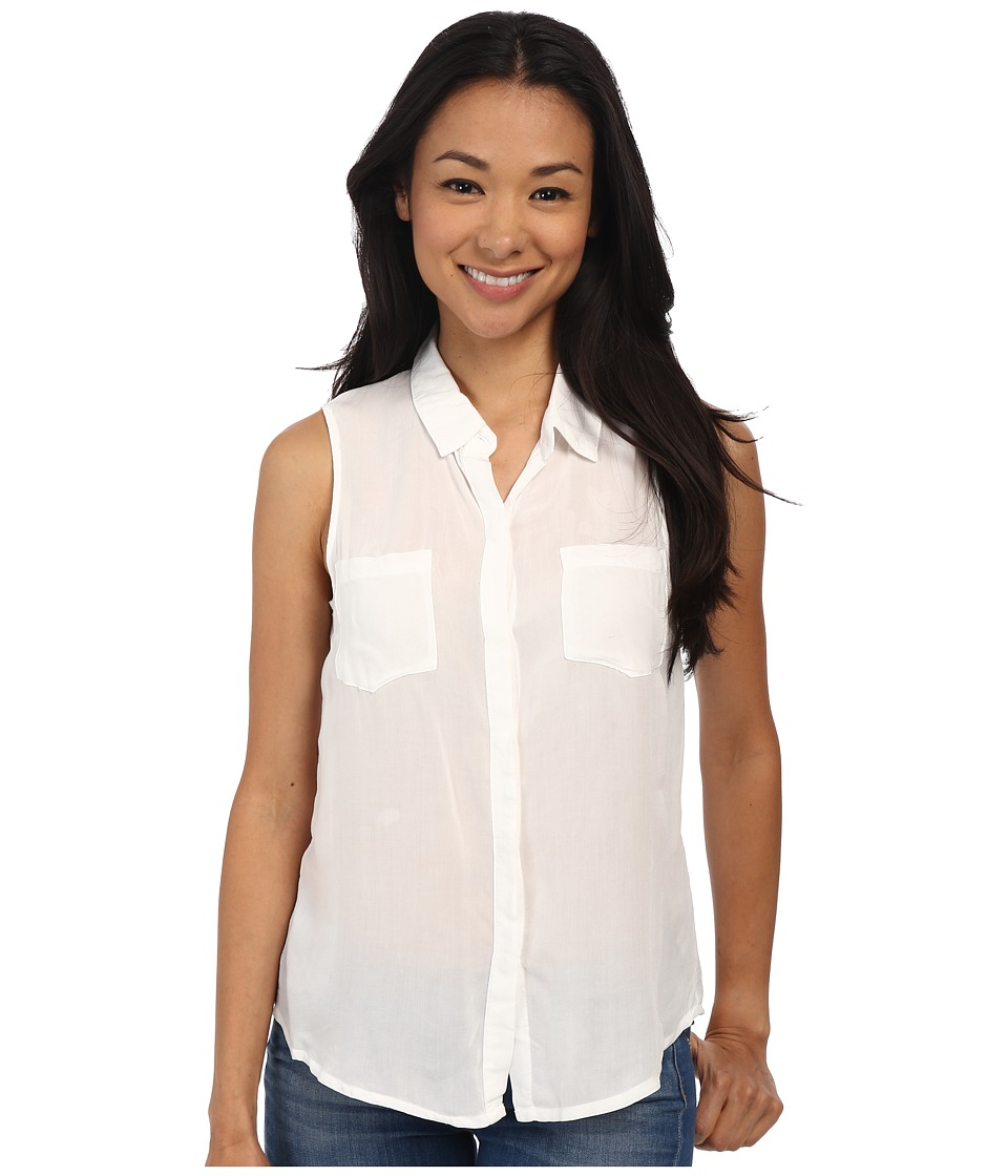 Splendid - Rayon Voile Tank Top (White) Women