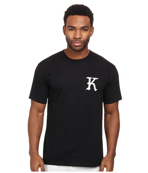 KR3W - Knight Short Sleeve Tee (Black) Men's Short Sleeve Pullover