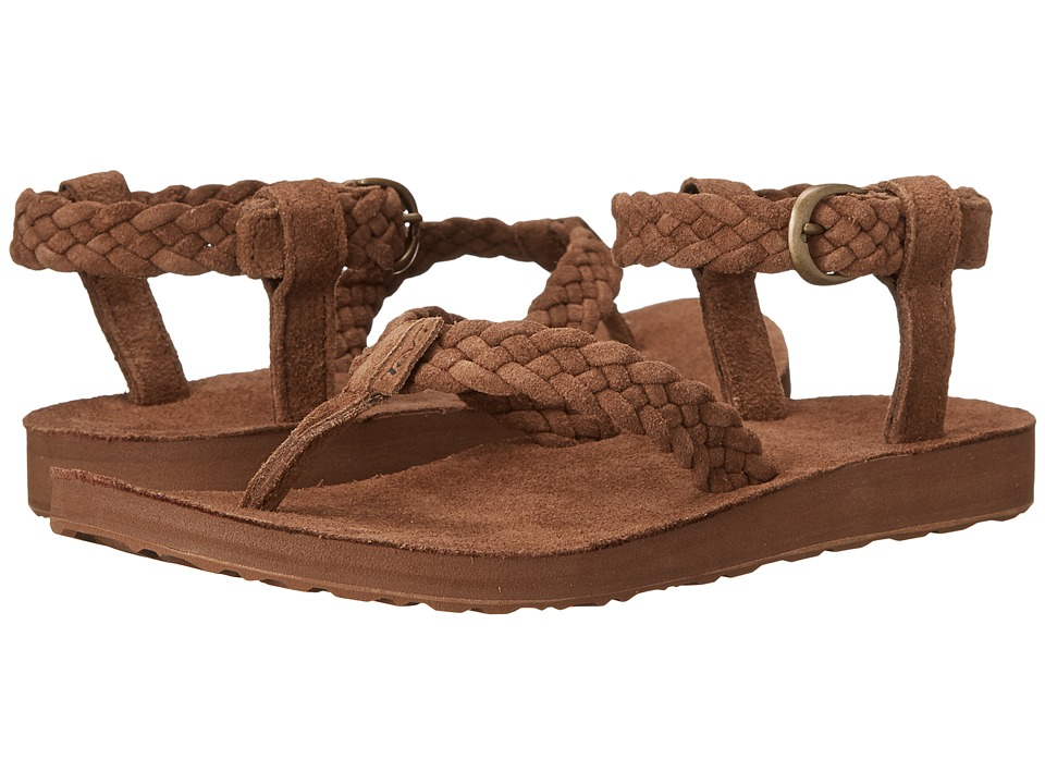 Teva Original Sandal Suede Braid (Bison) Women