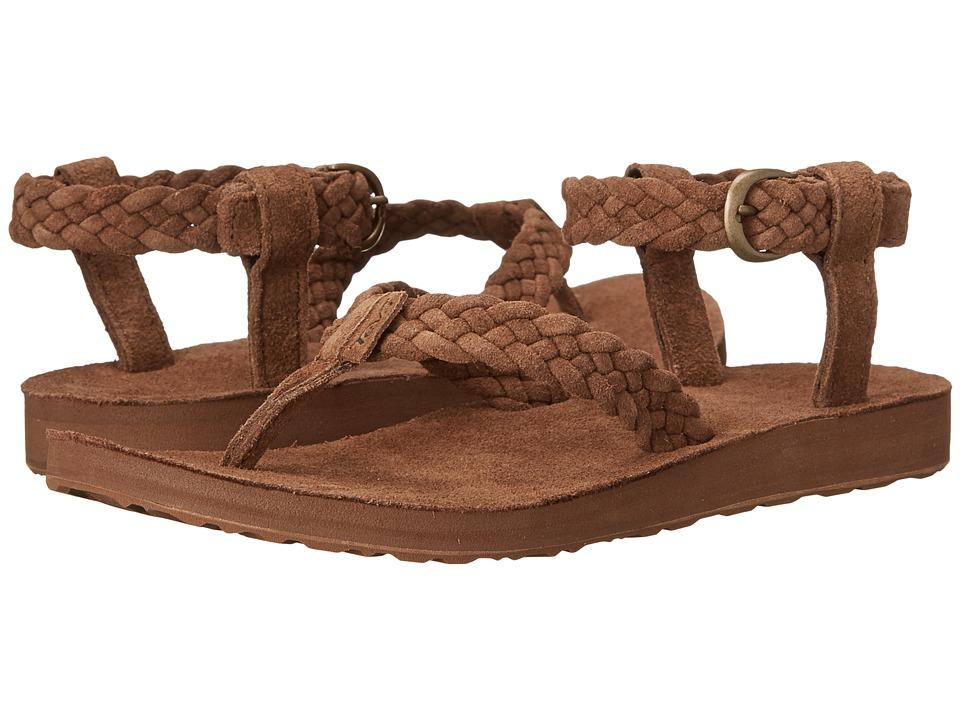 847b7d291eac UPC 888855293064 product image for Teva - Original Sandal Suede Braid  (Bison) Women s Sandals ...