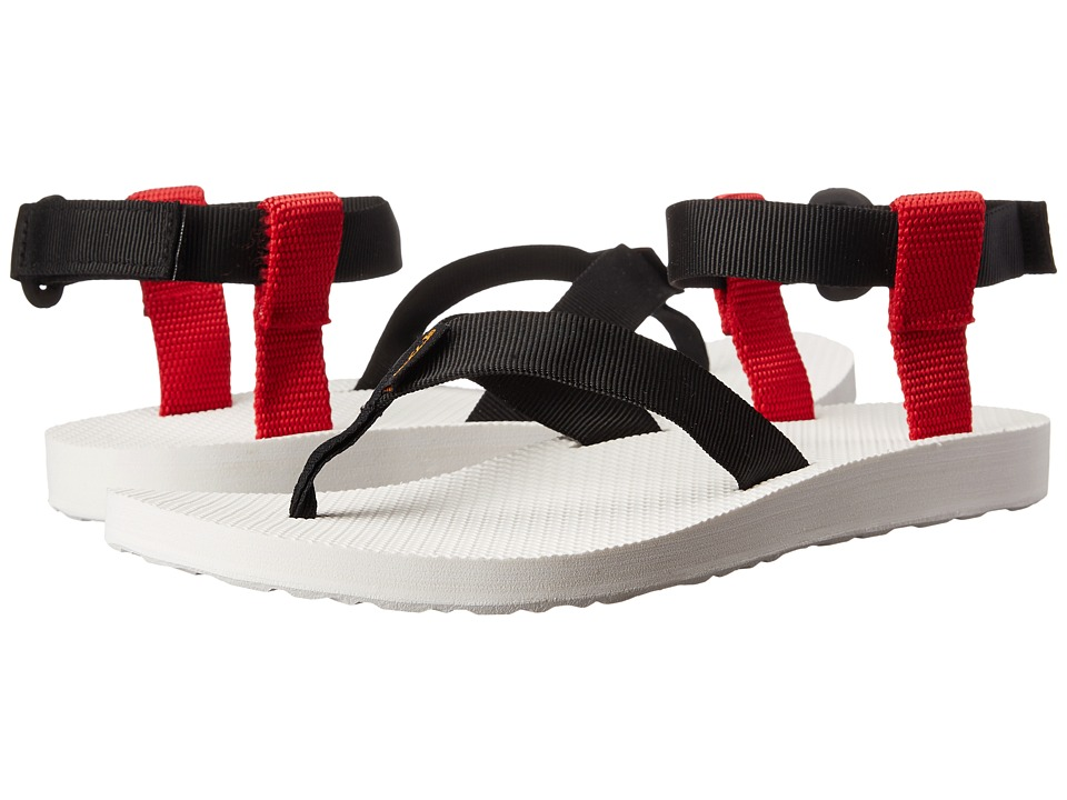 Teva Original Sandal Sport (Black/Red) Women