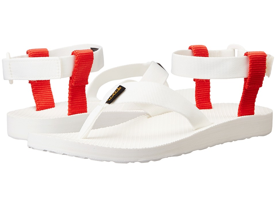 Teva Original Sandal Sport (White/Grenadine) Women