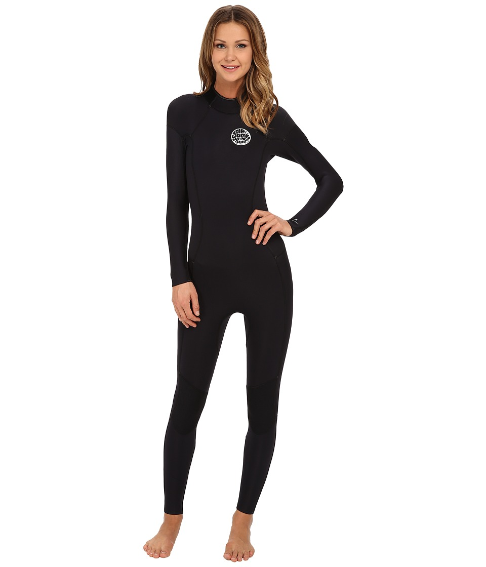 Rip Curl - Dawn Patrol 3/2 GB Full Suit (Black) Women's Wetsuits One Piece