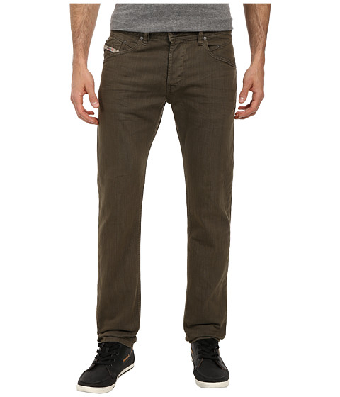Diesel - Belther Trousers 0837L (Olive/Green) Men's Jeans