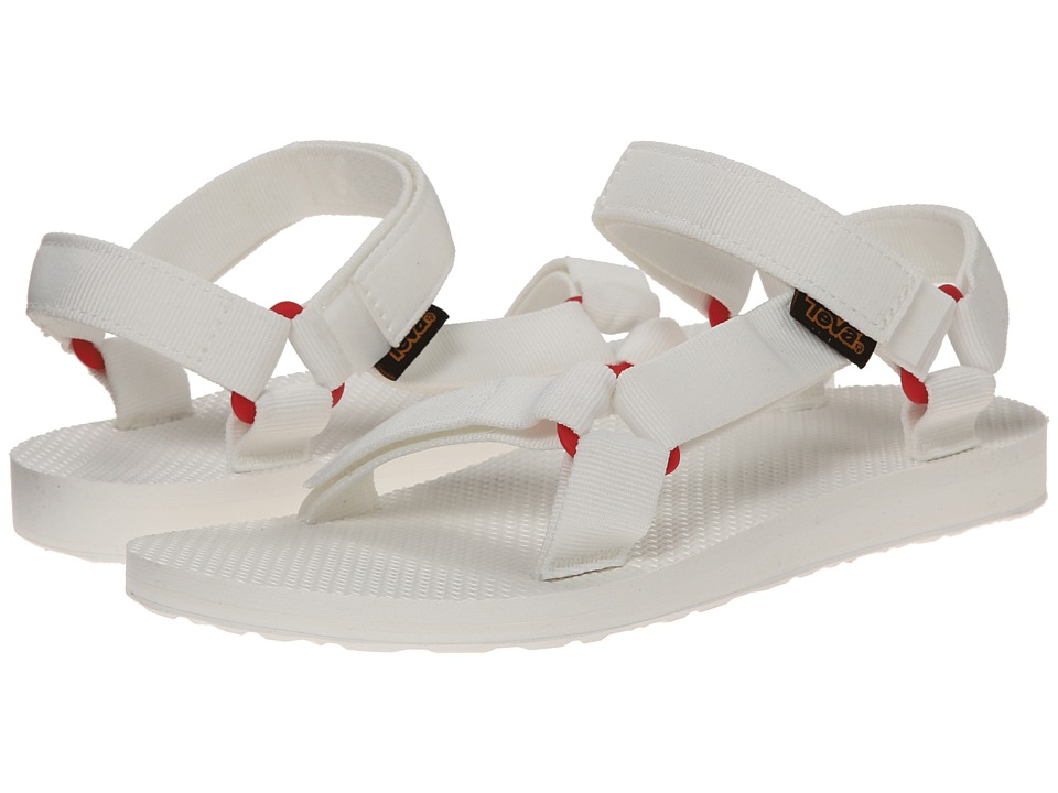 Teva - Original Universal Sport (Bright White) Women's Toe Open Shoes