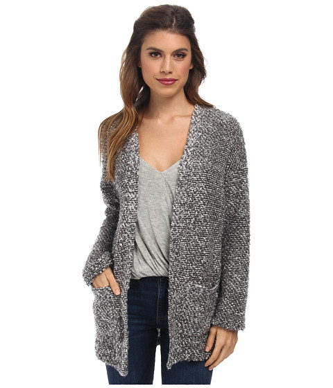 Obey - Shelter Cardigan (Heather Grey) Women's Sweater