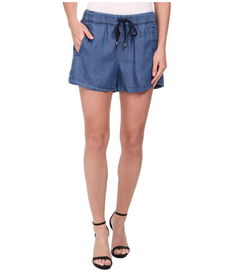 Splendid - Rayon Voile Shorts (Medium Wash) Women's Shorts