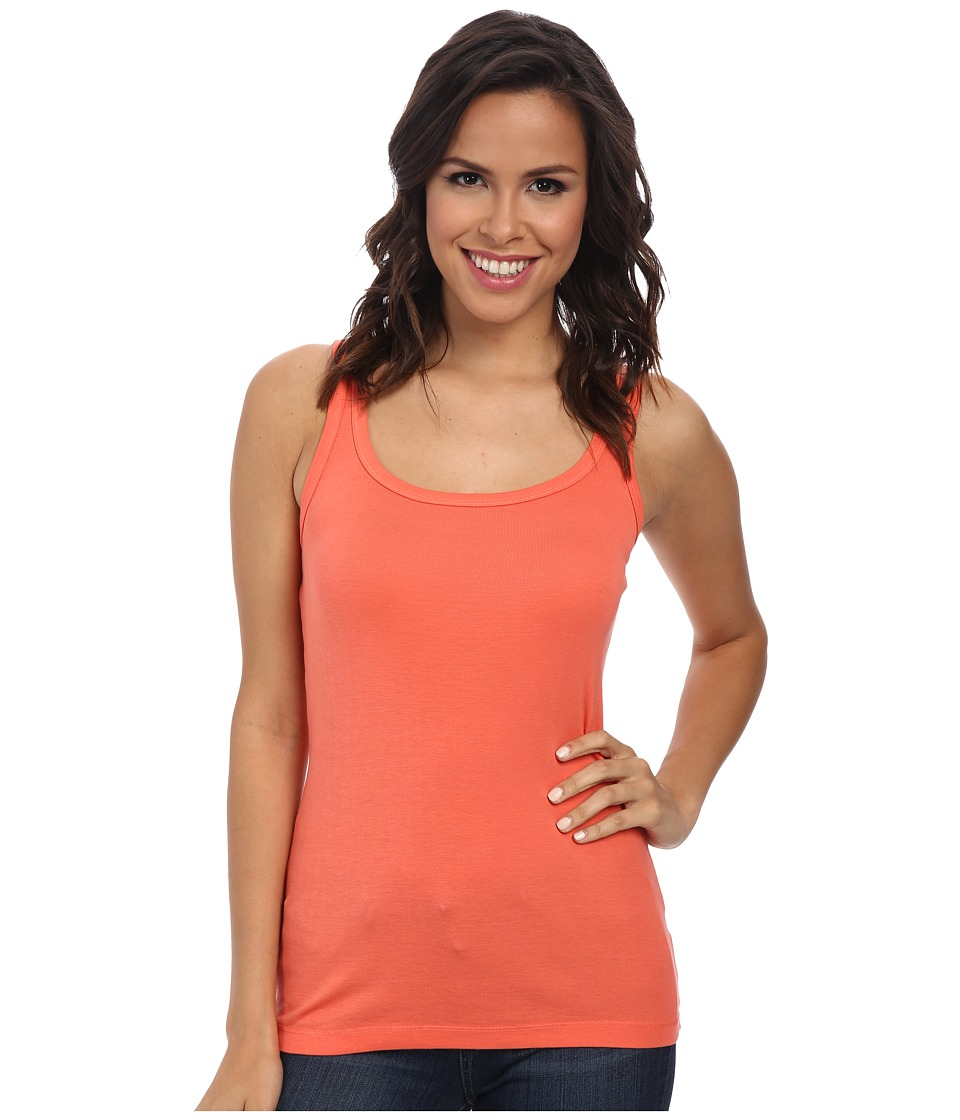 Splendid - 1x1 Tank Top (Guava) Women's Sleeveless