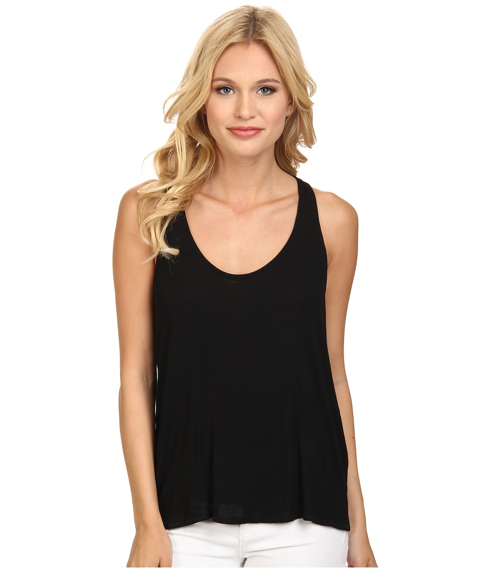 Splendid - Drapey Lux Tank Top (Black) Women