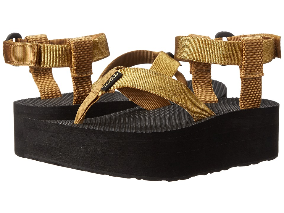 Teva - Flatform Sandal (Gold) Women's Sandals