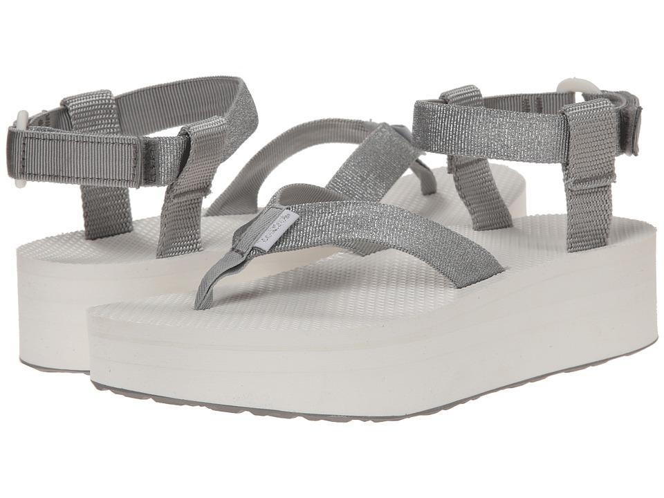 Teva - Flatform Sandal (Silver) Women's Sandals