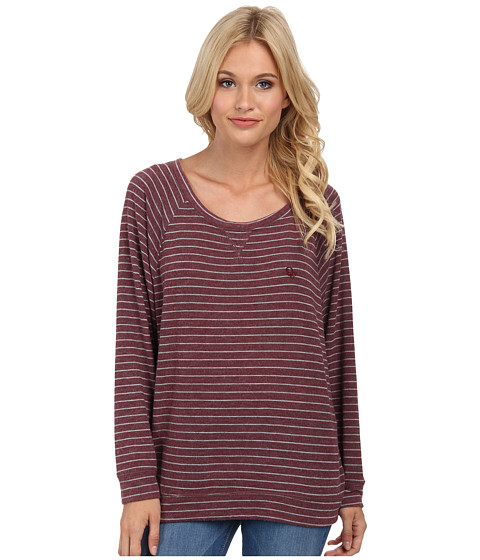 Obey - Lowell Long Sleeve (Purple Multi) Women
